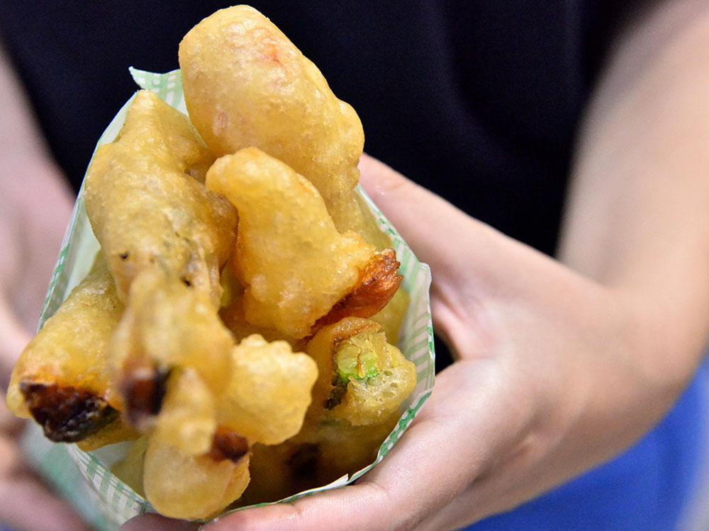 la lievita verdure miste fritte