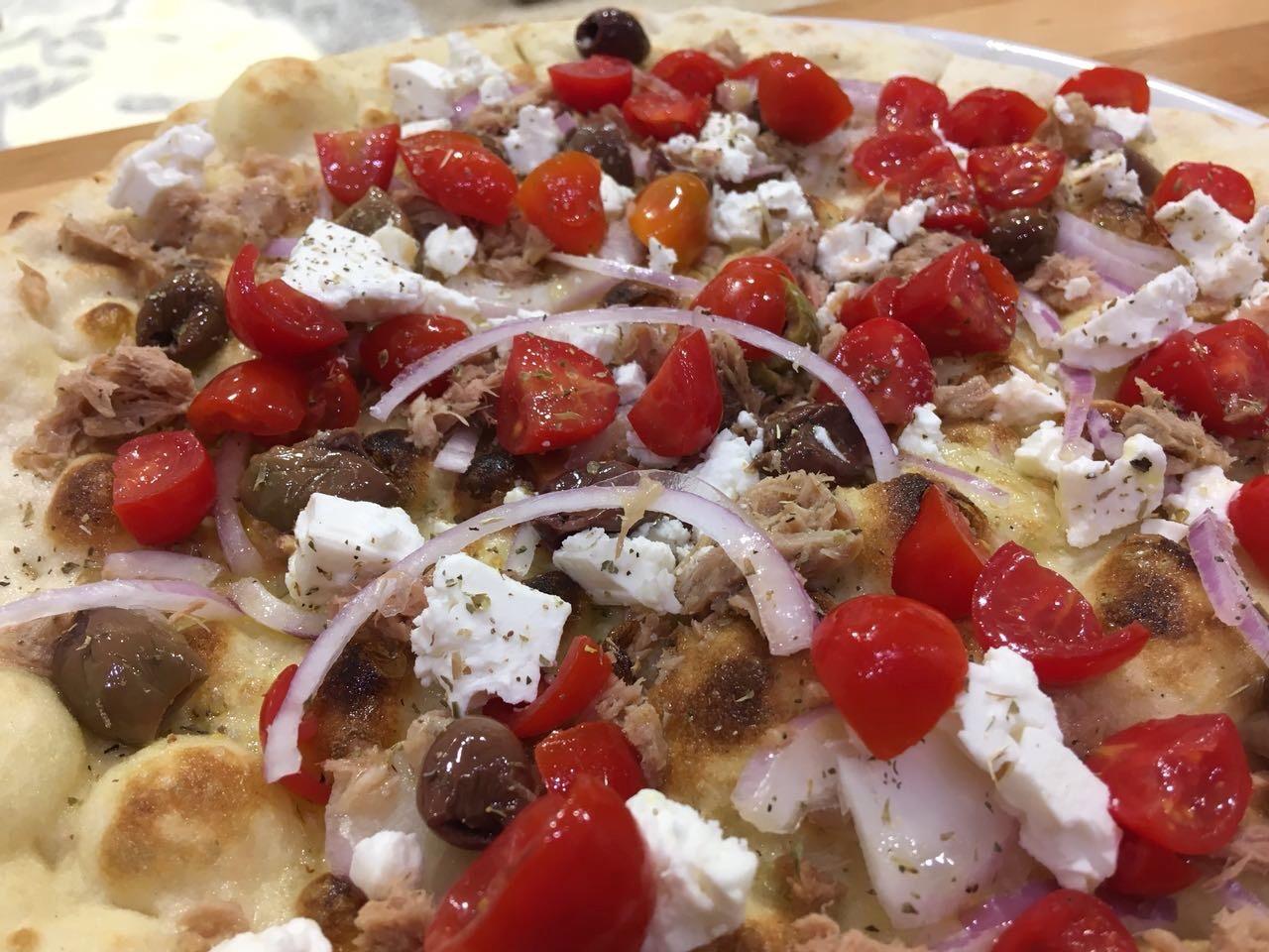 pizza Schiacciata Meditarranea