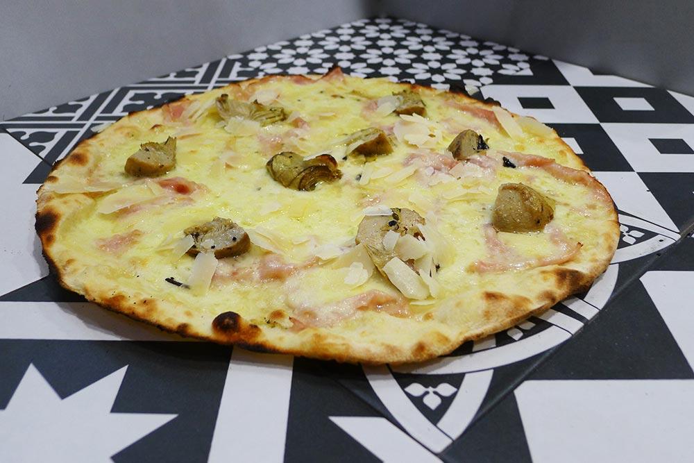 Pizzeria la Lievita pizza a domicilio e da asporto carciofi, cot