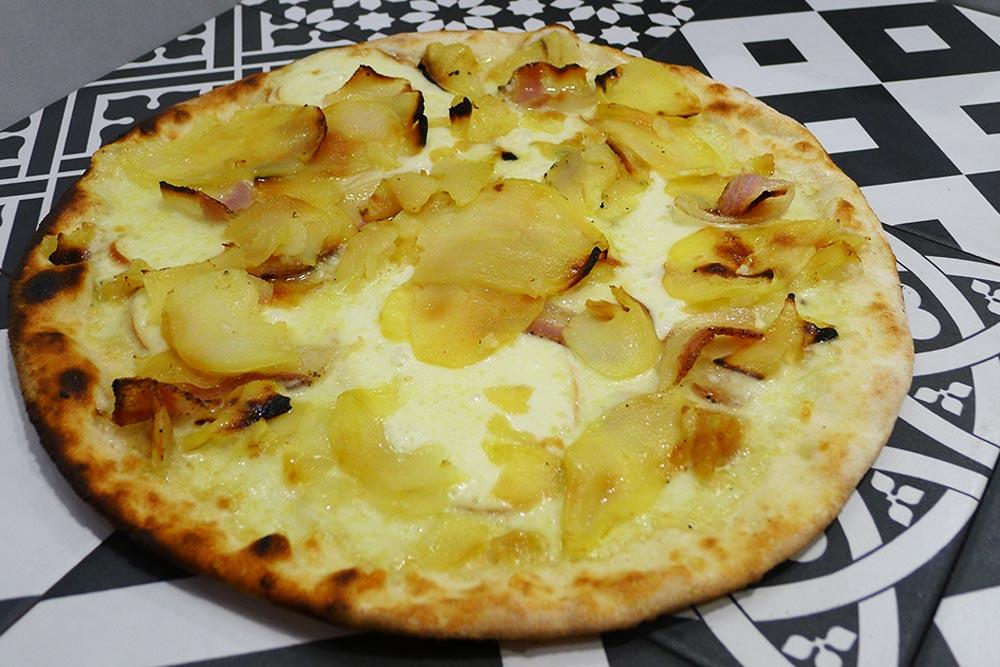 Pizzeria la Lievita pizza a domicilio e da asporto patate, guanc