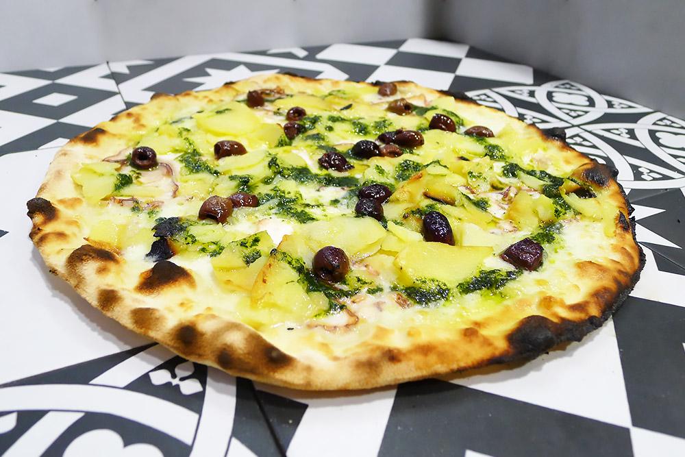 Pizzeria la Lievita pizza a domicilio e da asporto polpo e patate