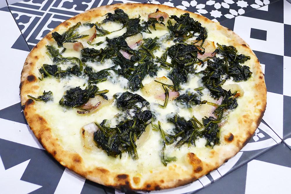 Pizzeria la Lievita pizza a domicilio e da asporto gricia rivisitata