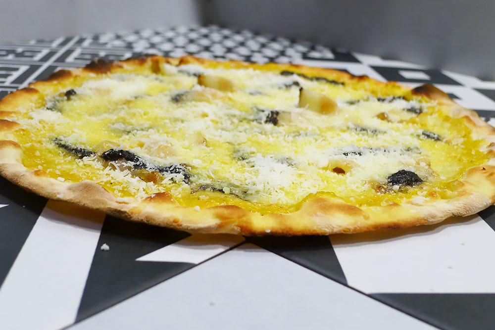 Pizzeria la Lievita pizza a domicilio e da asporto zucca e guanciale